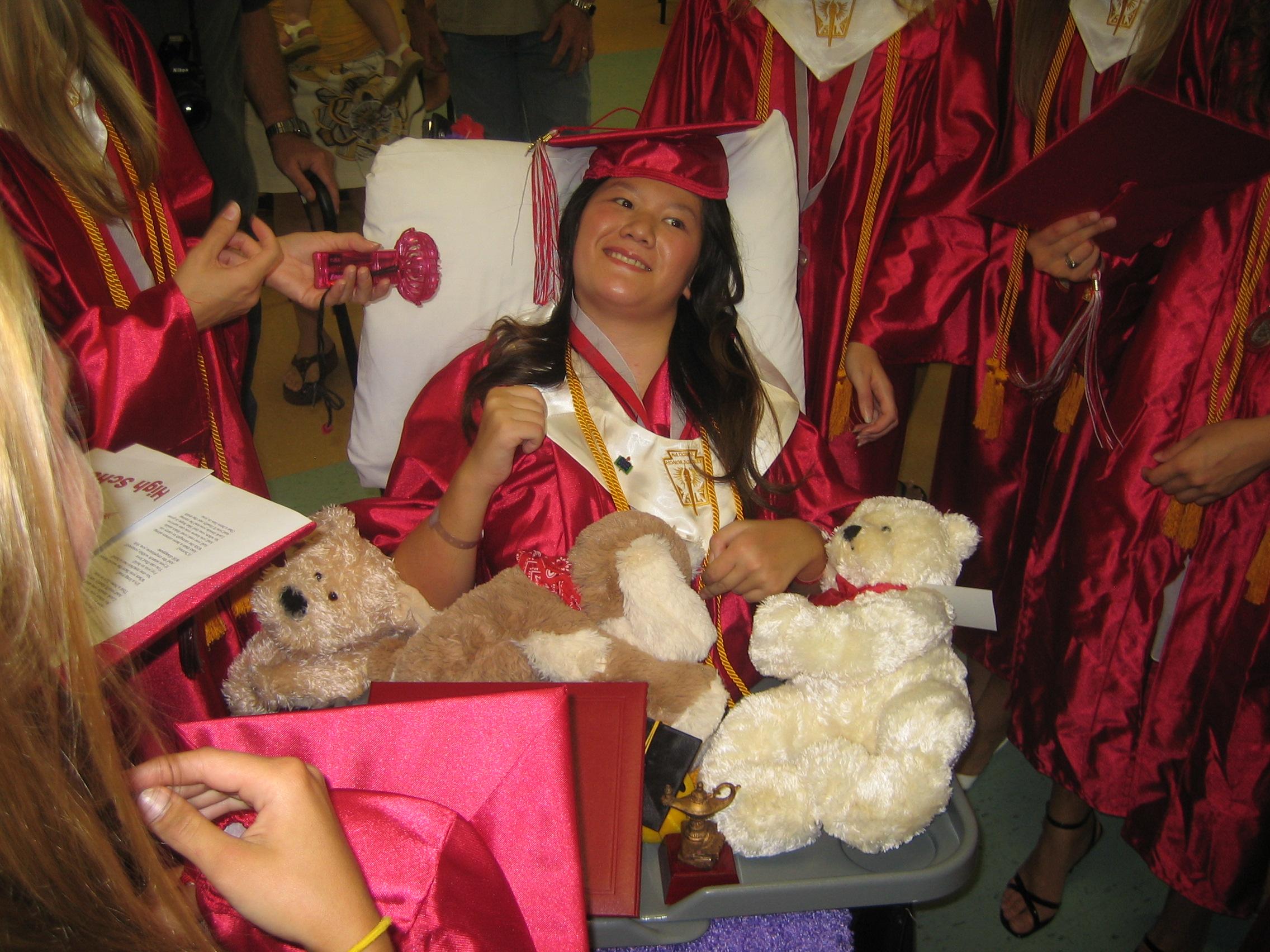 Queena's Graduation (August 2008)